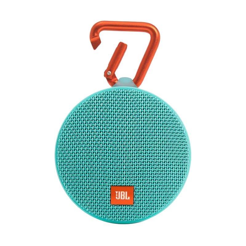 JBL Clip 2 Portable Bluetooth Speaker - Teal [Waterproof]