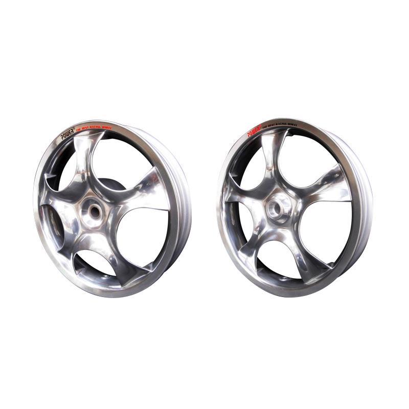 harga Power Rose Set Velg Racing for Mio J - Chrome [14 Inch] Blibli.com