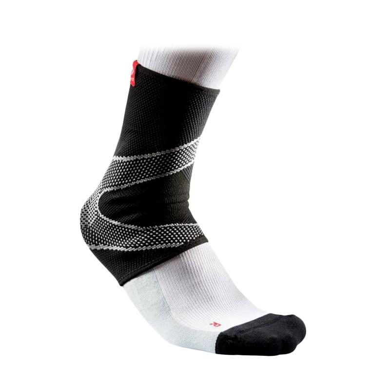 McDavid Ankle Sleeve 4-Way Elastic with Gel Buttresses Alat Pelindung Olahraga Pria - Black [511-5115]
