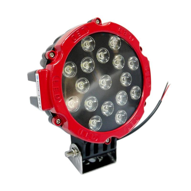 ESCORT GT1015-51 LED Lampu Sorot Mobil - Red [51 W]