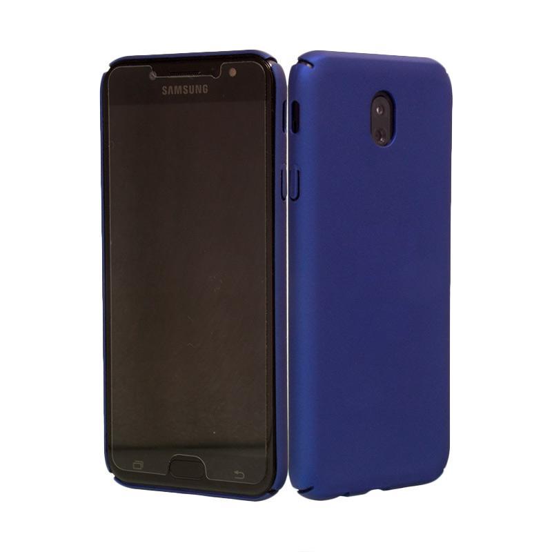 OEM BABY Skin Ultrathin Hardcase Casing for Samsung J7 Pro - Blue Navy