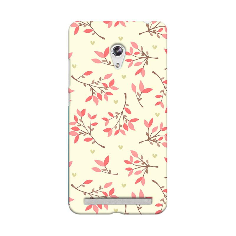 Premiumcaseid Case Cute Floral Seamless Shabby Hardcase Casing for Asus Zenfone 6