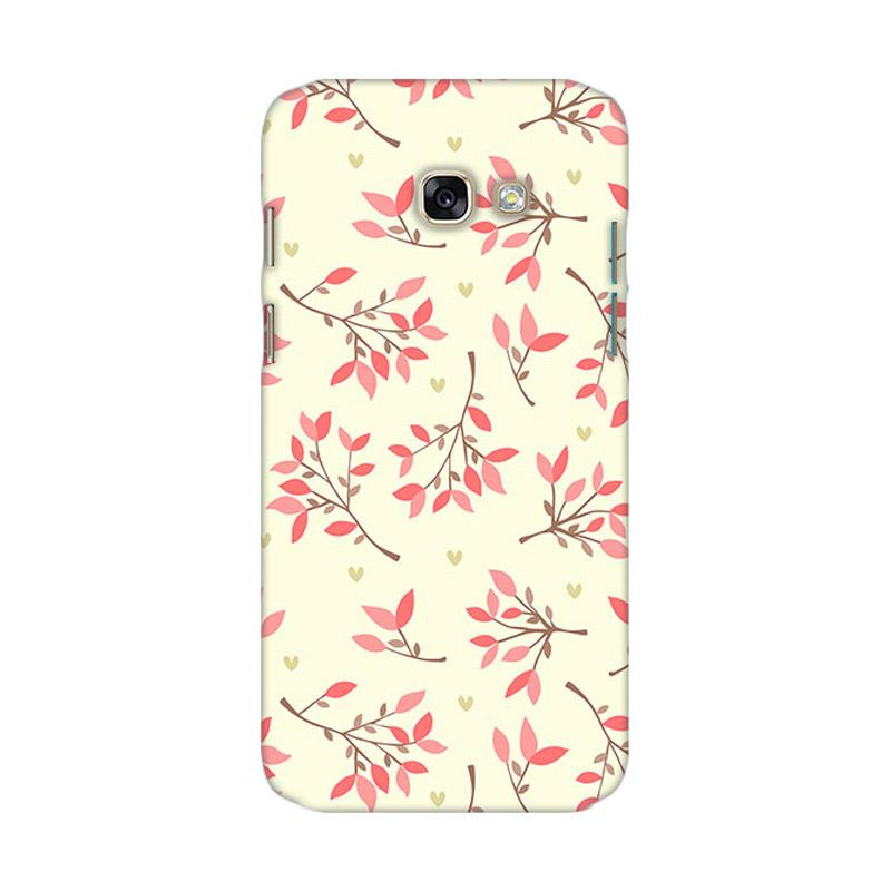 Premiumcaseid Cute Floral Seamless Shabby Hardcase Casing for Samsung Galaxy A7 2017