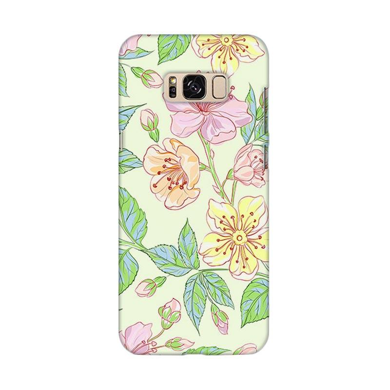 Premiumcaseid Beautiful Flower Wallpaper Hardcase Casing for Samsung Galaxy S8 Plus