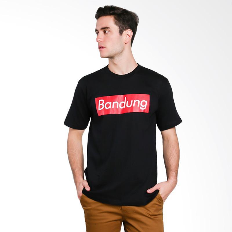 Hypestore Bandung Men T-Shirt - Black [3055-8743]