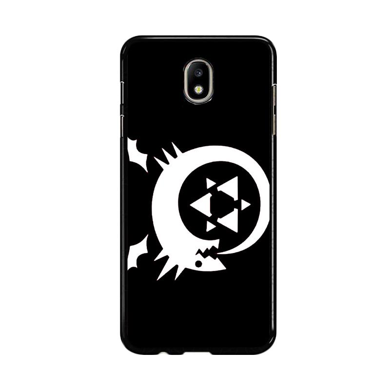 Flazzstore Fullmetal Alchemist Inspired Homunculus Z0180 Custom Casing for Samsung Galaxy J5 Pro 2017
