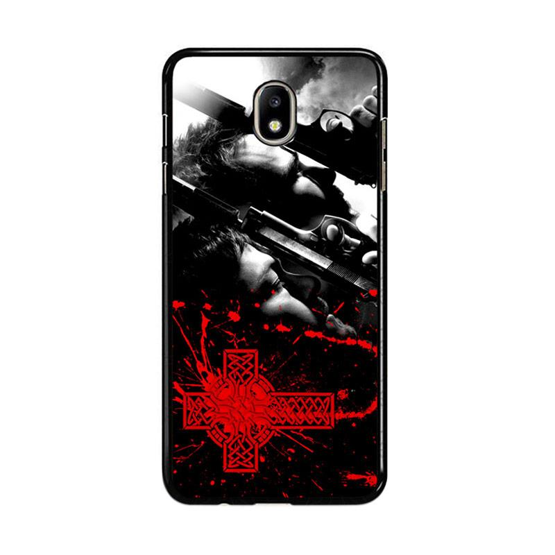 Flazzstore Boondock Saint Movies Series Z0346 Custom Casing for Samsung Galaxy J7 Pro 2017