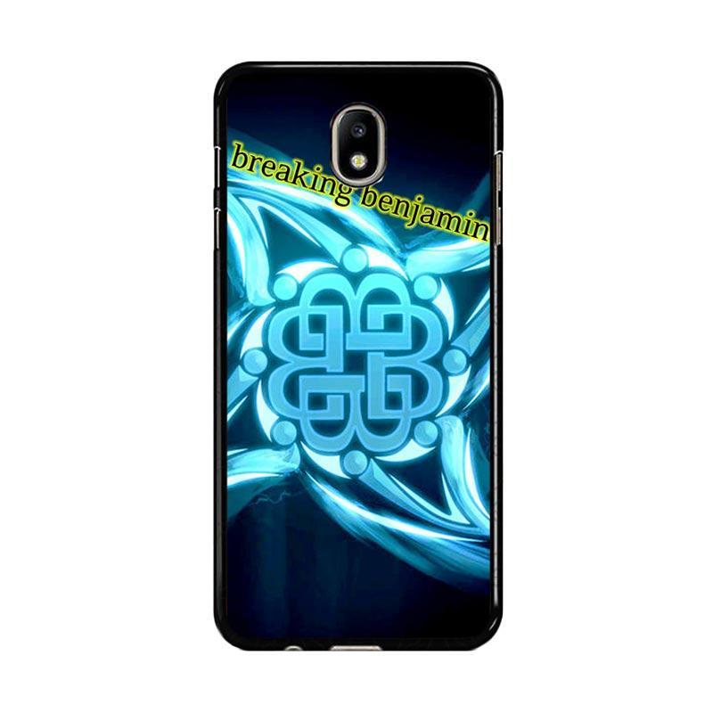 Flazzstore Breaking Benjamin American Metal Band Z0382 Custom Casing for Samsung Galaxy J7 Pro 2017