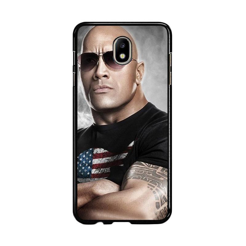 Flazzstore The Rock Dwayne Johnson Z0786 Custom Casing for Samsung Galaxy J7 Pro 2017