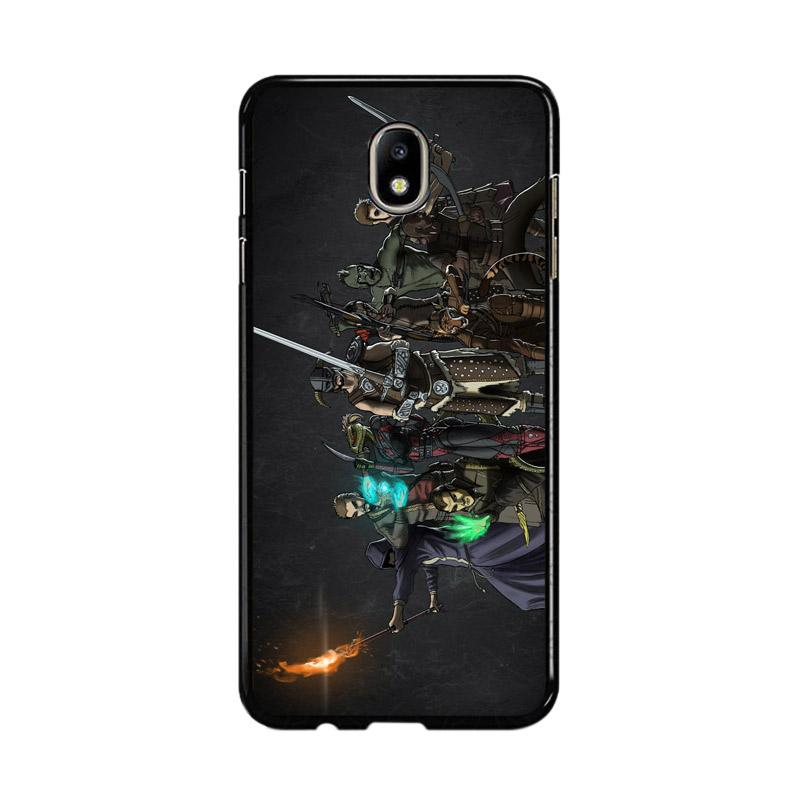 Flazzstore Skyrim Z0279 Custom Casing for Samsung Galaxy J5 Pro 2017