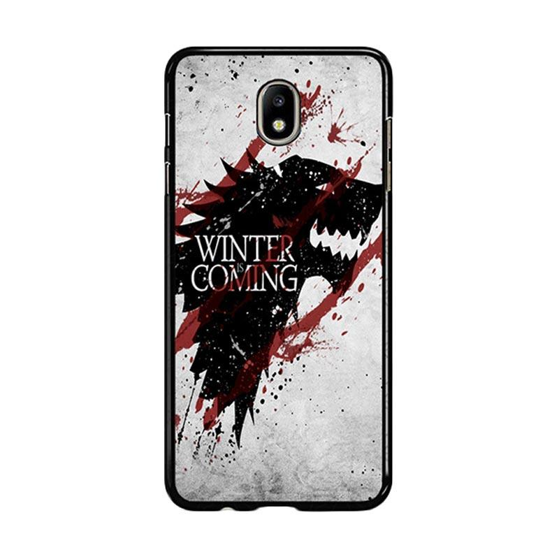 Flazzstore Winter Is Coming House Stark Logo Z0308 Custom Casing for Samsung Galaxy J5 Pro 2017