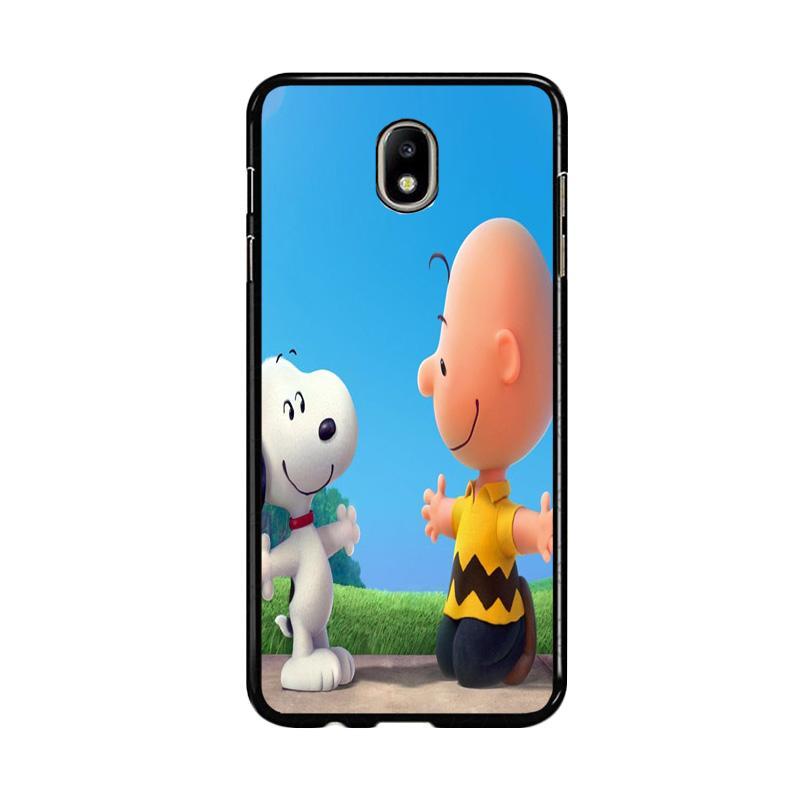 Flazzstore Peanuts Movie Z0850 Custom Casing for Samsung Galaxy J7 Pro 2017