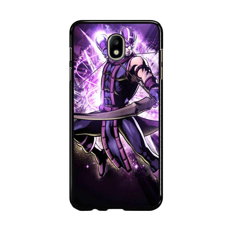 Flazzstore Hawkeye Marvel Z0917 Custom Casing for Samsung Galaxy J7 Pro 2017