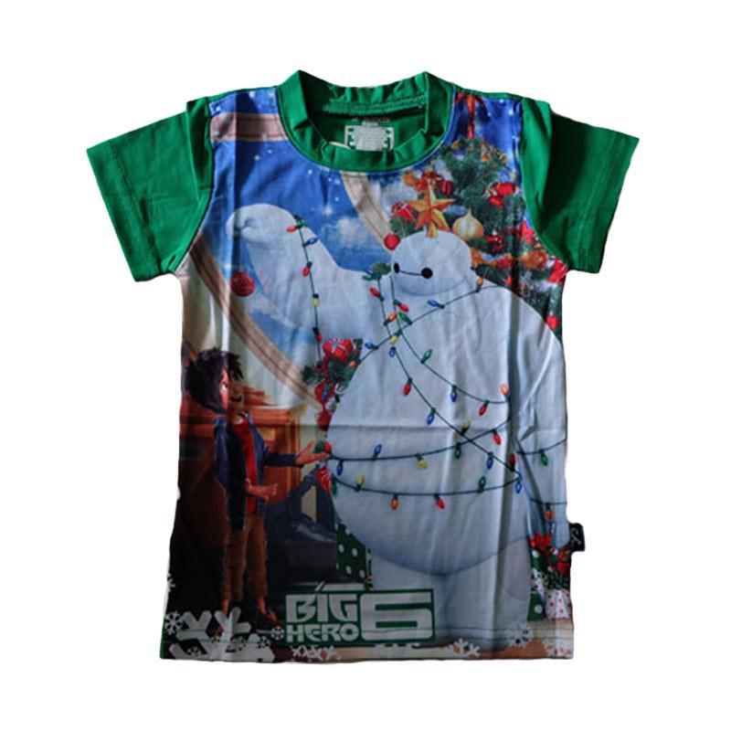 harga J2 Christmas Baymax Kaos Anak - Hijau Blibli.com