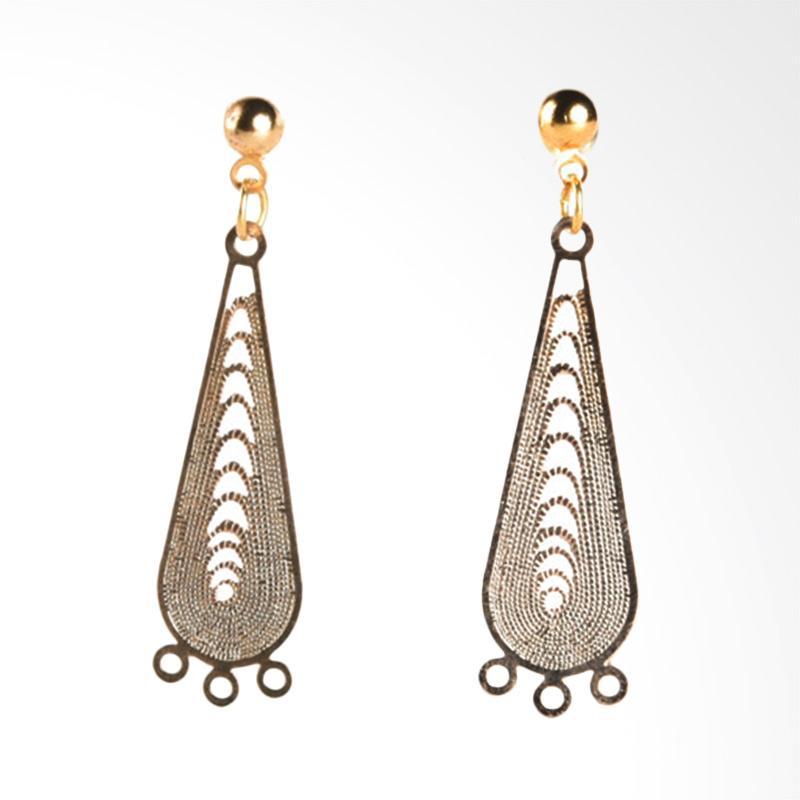 1901 Jewelry Alisha Goldy G0440553.GW26 Giwang Women Earrings - Gold