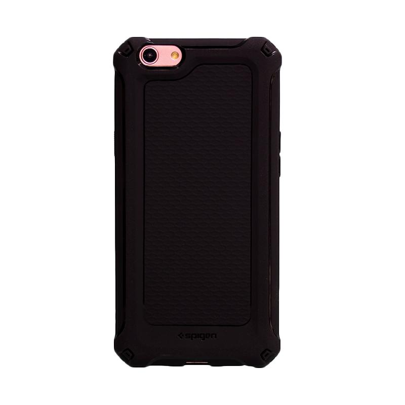 Spigen Rugged Armor Extra SoftCase Casing for Oppo F1s - Black