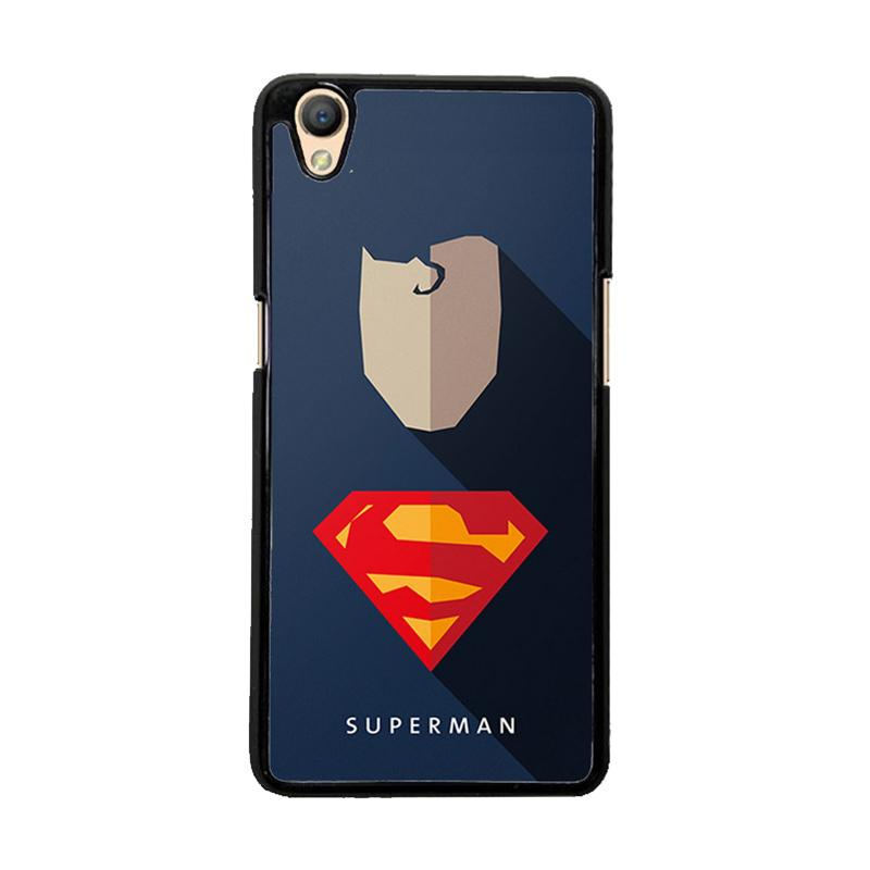Flazzstore Superhero Superman O0247 Custom Casing for Oppo Neo 9 or A37