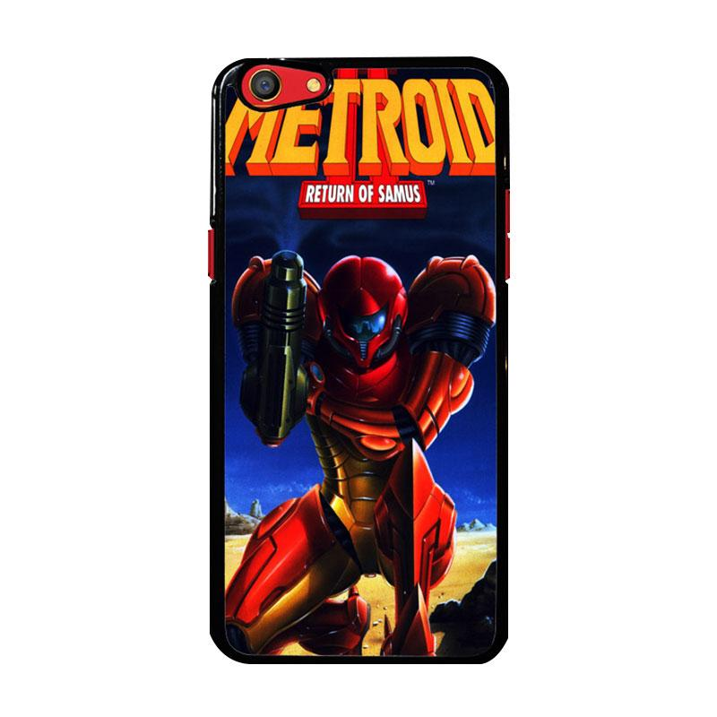 Flazzstore Metroid Video Games Z1109 Custom Casing for Oppo F3