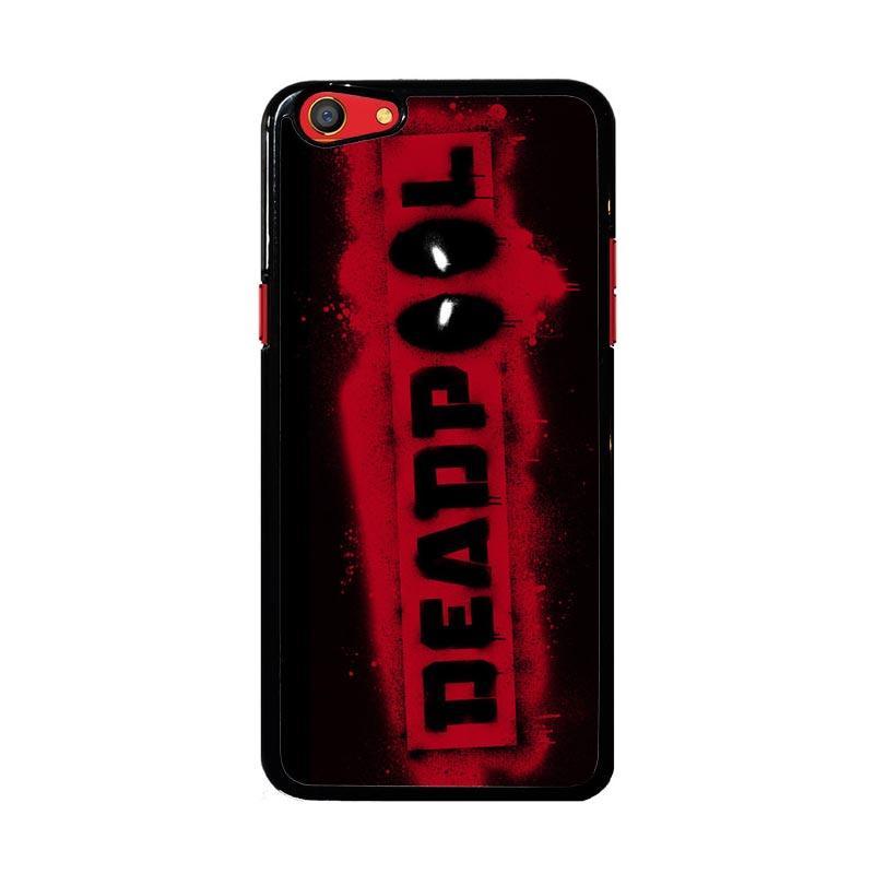 Flazzstore Deadpool Logo Brush Z1241 Custom Casing for Oppo F3