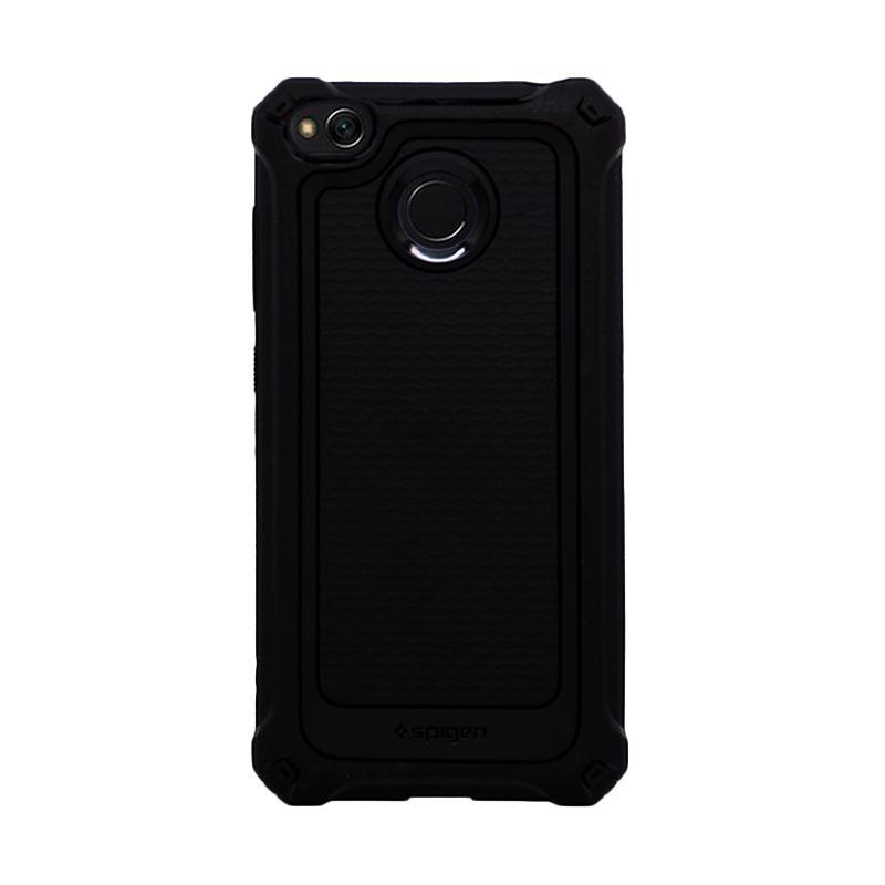 Spigen Rugged Armor Extra Softcase Casing for Xiaomi Redmi 4X - Black