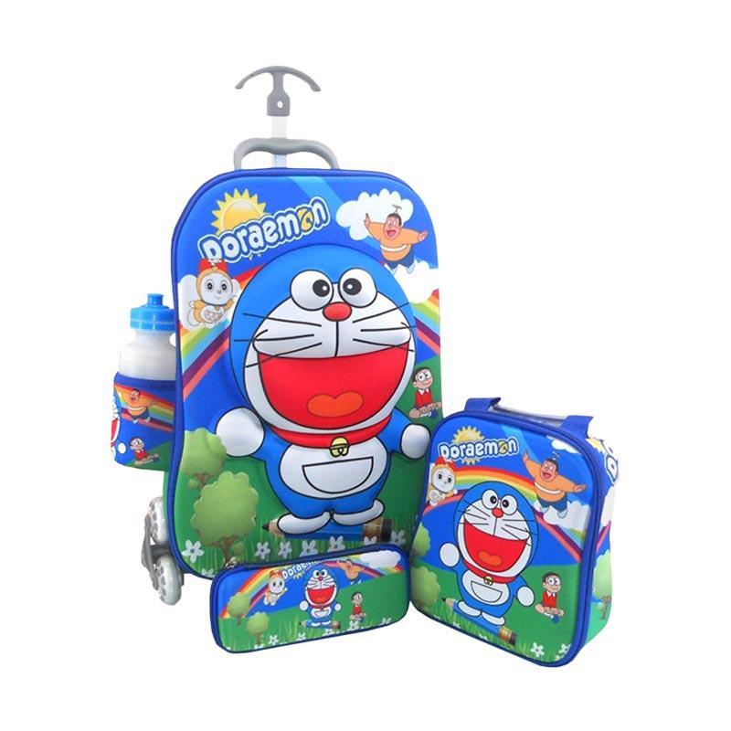 DJ Fashion 0001 3D 4in1 Set Tas Sekolah Anak