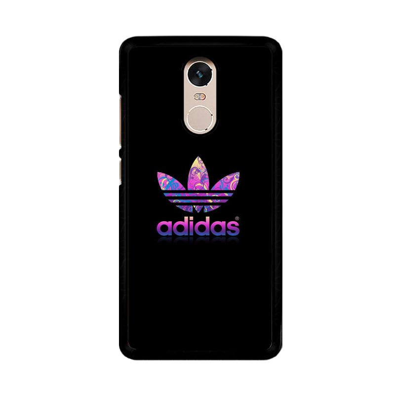 Flazzstore Adidas Purple O0459 Custom Casing for Xiaomi Redmi Note 4 or Note 4X