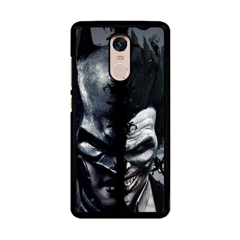 Flazzstore Batman Versus Joker O0779 Custom Casing for Xiaomi Redmi Note 4 or Note 4X Snapdragon Mediatek