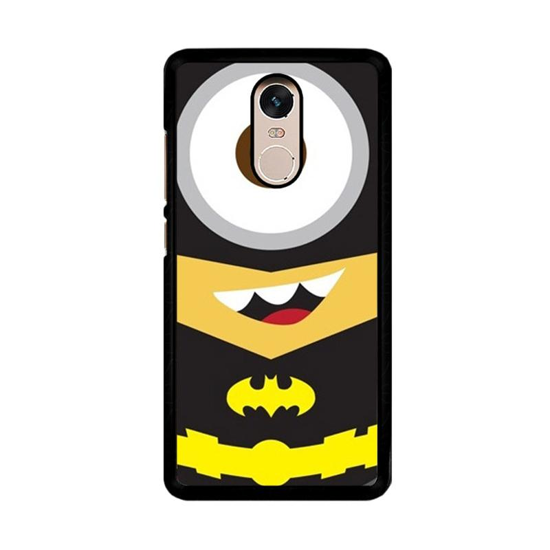 Flazzstore Despicable Me Batman Minion F0162 Custom Casing for Xiaomi Redmi Note 4 or Note 4X Snapdragon Mediatek
