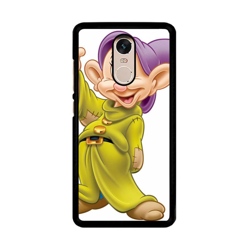 Flazzstore Disney Snow White 7 Dwarf Dopey Z0704 Custom Casing for Xiaomi Redmi Note 4 or Note 4X Snapdragon Mediatek