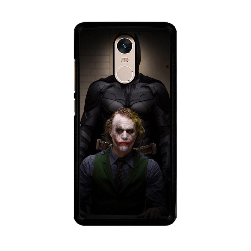 Flazzstore Batman And Joker In The Dark Knight F0321 Custom Casing for Xiaomi Redmi Note 4 or Note 4X Snapdragon Mediatek