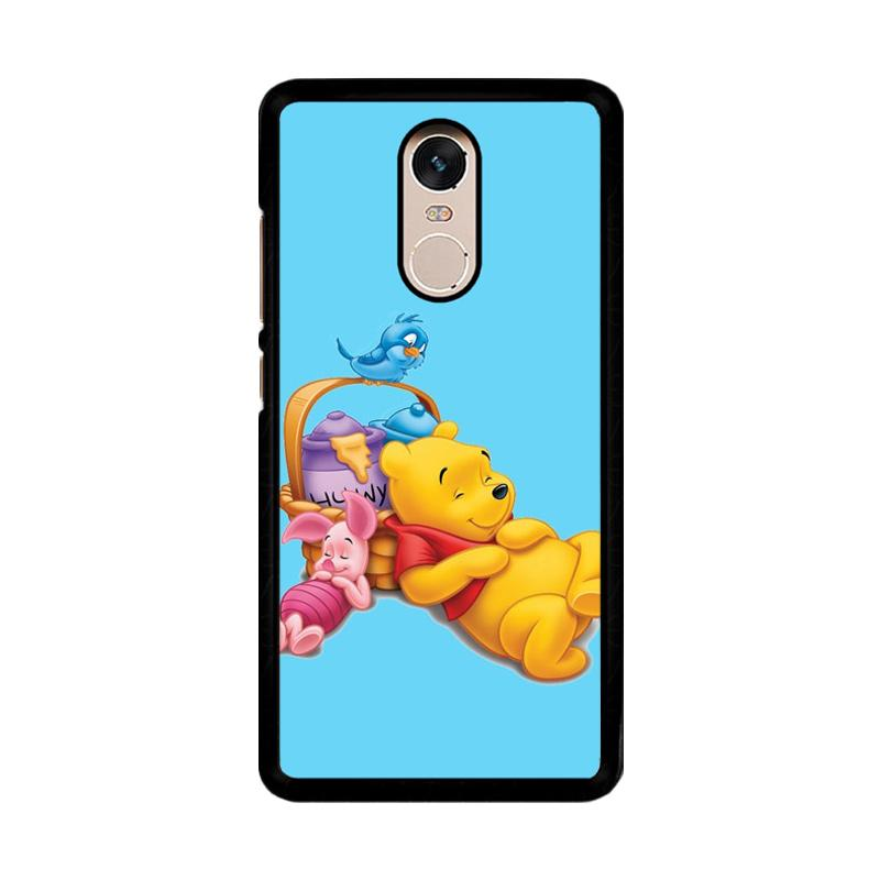 Flazzstore Funny Winnie The Pooh And Piglet Z1060 Custom Casing for Xiaomi Redmi Note 4 or Note 4X Snapdragon Mediatek