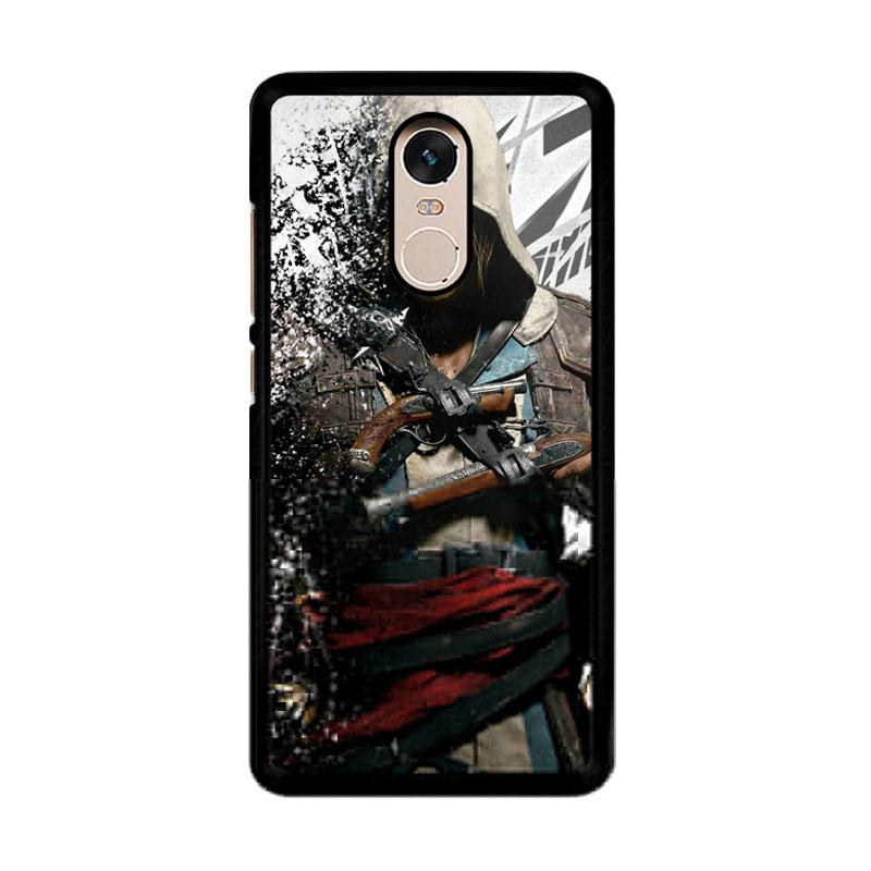 Flazzstore Assassin'S Creed Edward Kenway Z1416 Custom Casing for Xiaomi Redmi Note 4 or Note 4X Snapdragon Mediatek
