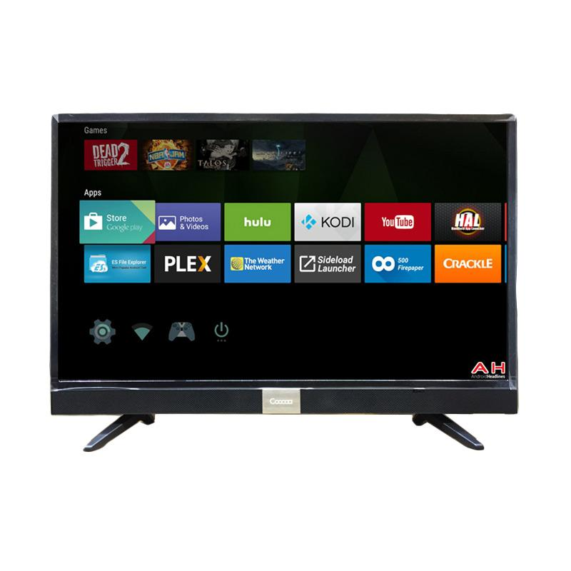 Coocaa 43S3A12G LED Smart Digital TV - Hitam [43 Inch]