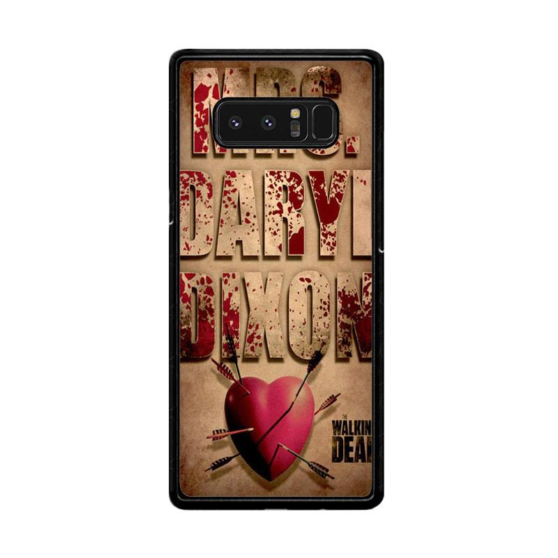 Flazzstore The Walking Dead Mrs Dixon Z0702 Custom Casing for Samsung Galaxy Note 8