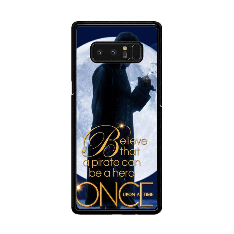 Flazzstore Once Upon A Time Captain Hook Believe F0542 Custom Casing for Samsung Galaxy Note8