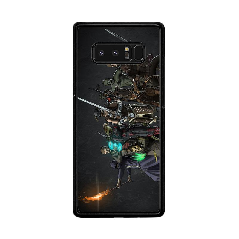 Flazzstore Skyrim Z0279 Custom Casing for Samsung Galaxy Note 8