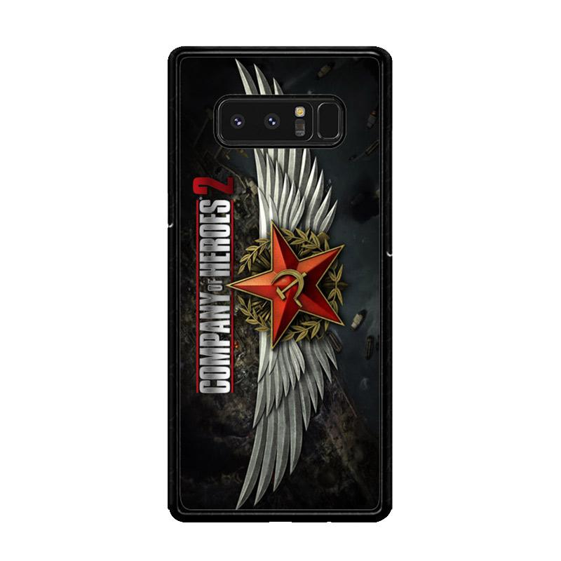 Flazzstore Company Of Heroes Video Game Z1027 Custom Casing for Samsung Galaxy Note8