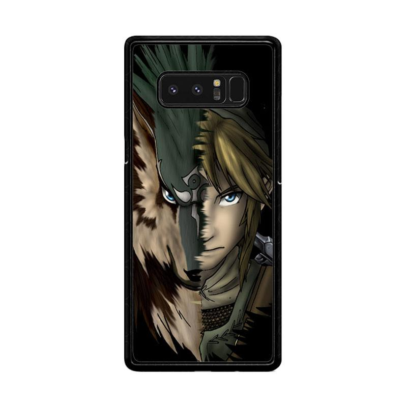Flazzstore Zelda Link Wolf Triforce Z1233 Custom Casing for Samsung Galaxy Note8