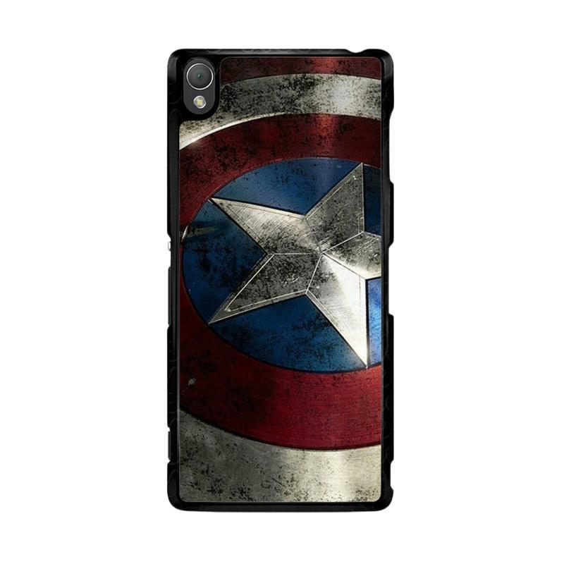 Flazzstore Captain America-0001 O0169 Custom Casing for Sony Xperia Z3