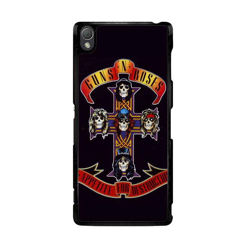 Flazzstore Rock Bands Guns N Roses F0216 Custom Casing for Sony Xperia Z3