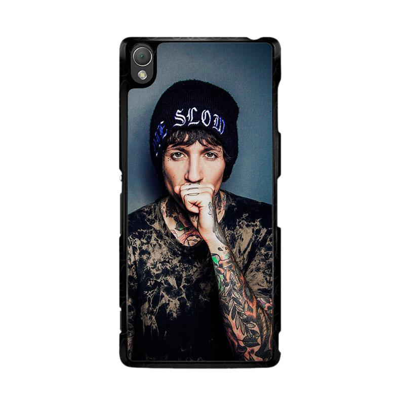 Flazzstore Oliver Sykes Bring Me The Horizon And Signature F0543 Custom Casing for Sony Xperia Z3
