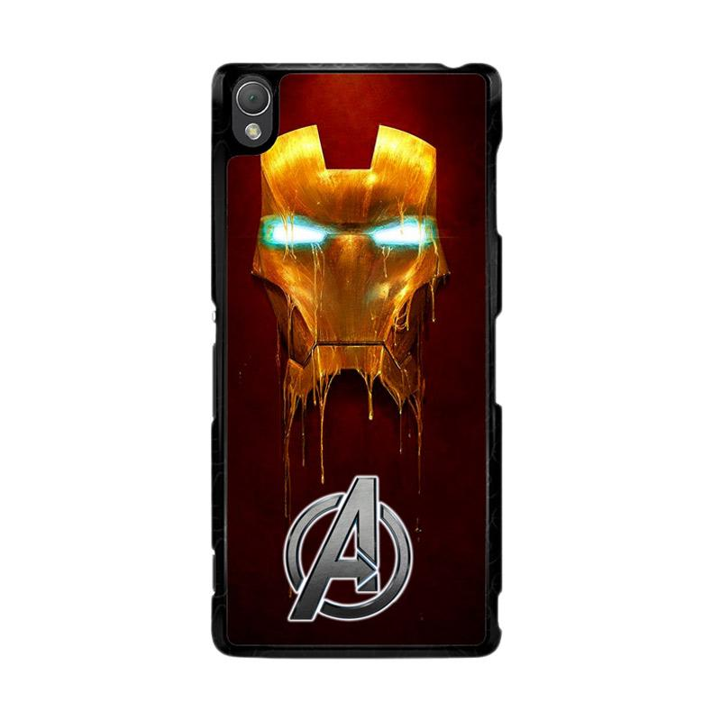 Flazzstore Ironman The Avengers Painting Z0262 Custom Casing for Sony Xperia Z3
