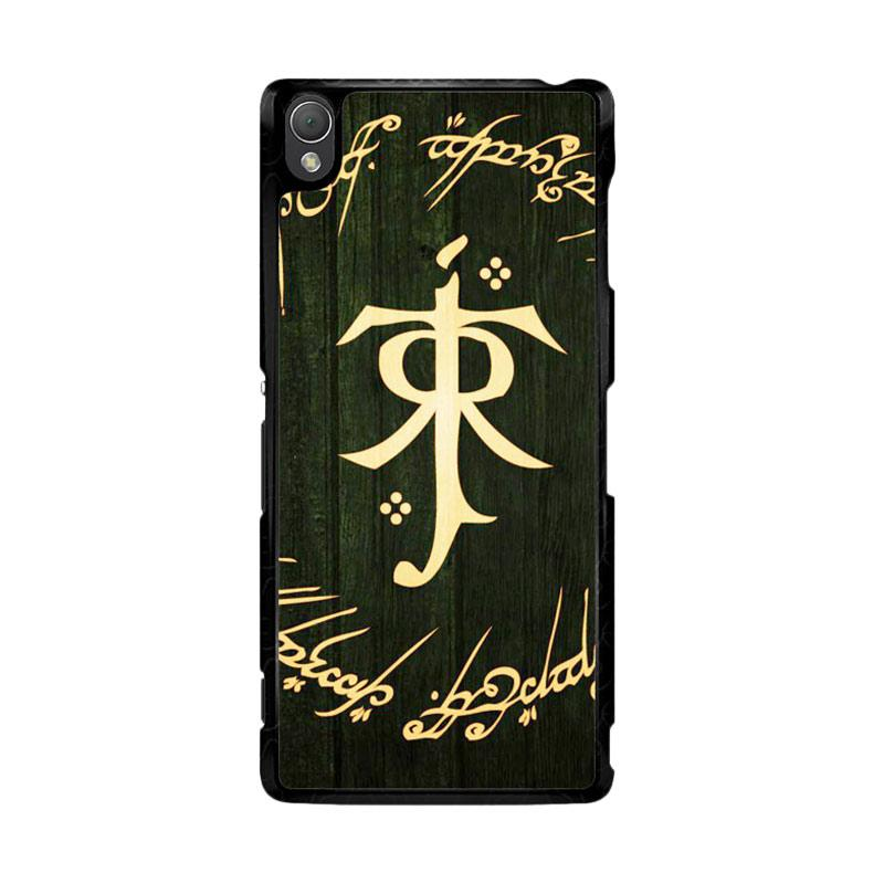 Flazzstore Lord Of The Ring Symbol Z1090 Custom Casing for Sony Xperia Z3