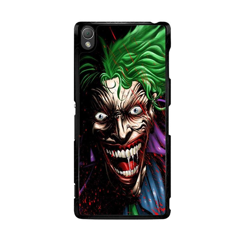 Flazzstore Joker Face Cartoon Z1273 Custom Casing for Sony Xperia Z3
