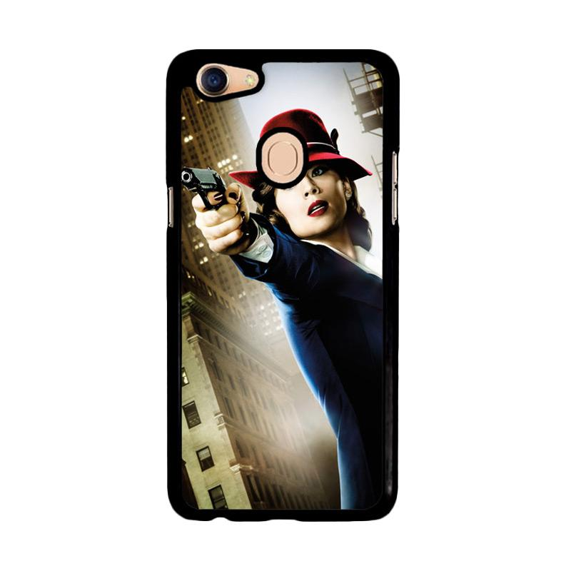 Flazzstore Agent Peggy Carter Z1577 Custom Casing for Oppo F5