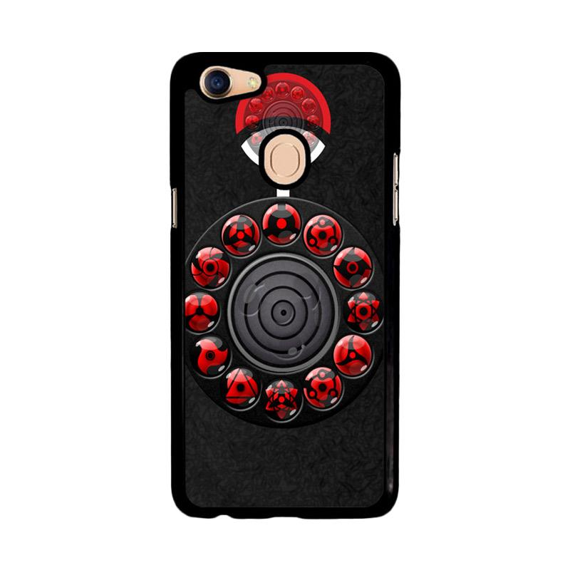 Flazzstore Sharingan Circle And Rinnegan Z2159 Custom Casing for Oppo F5