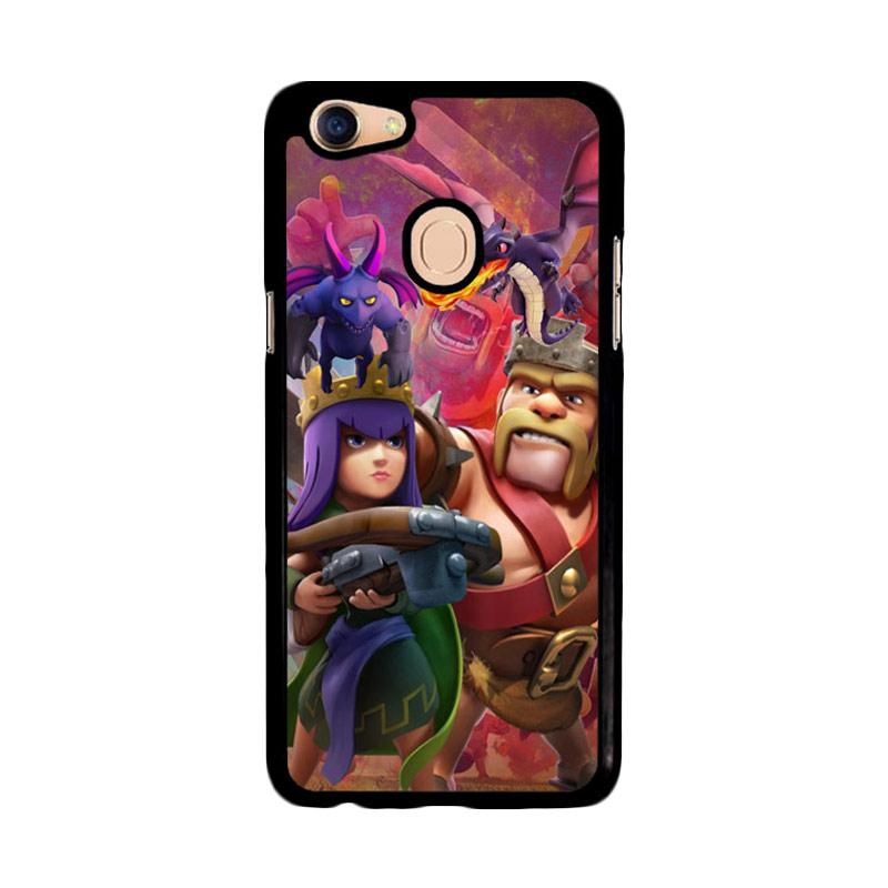 Flazzstore Clash Of Clans Game Z2756 Custom Casing for Oppo F5