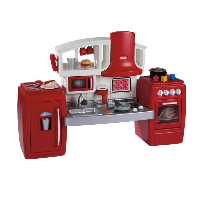 Jual Little Tikes Cook Grow Kitchen Set Mainan Anak Online Januari 2021 Blibli