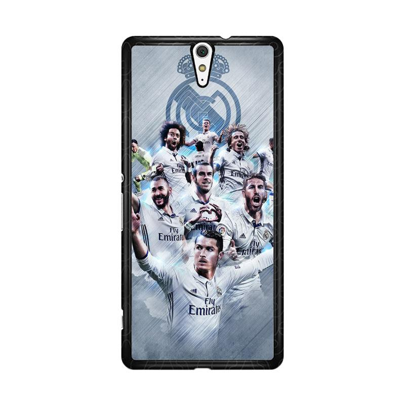 Flazzstore Real Madrid Team O1019 Custom Casing for Sony Xperia C5 Ultra
