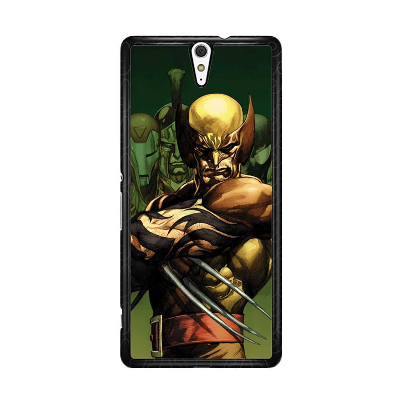 Flazzstore Dark Wolverine X-Man And Friend F0376 Custom Casing for Sony Xperia C5 Ultra